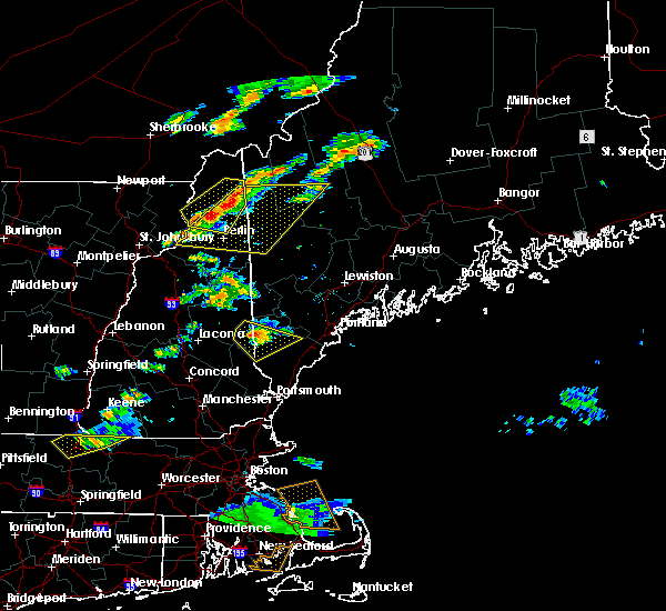 Radar Image for Severe Thunderstorms near Berlin, NH at 6/23/2015 6:42 PM EDT