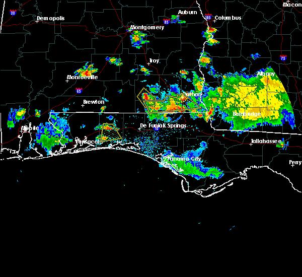 Radar Image for Severe Thunderstorms near Crestview, FL at 6/23/2015 5:47 PM CDT