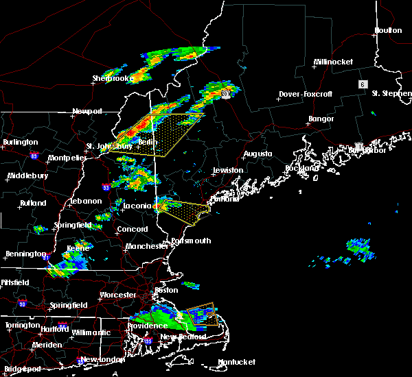 Radar Image for Severe Thunderstorms near West Kennebunk, ME at 6/23/2015 6:49 PM EDT