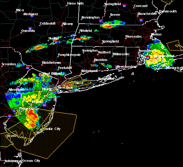 Radar Image for Severe Thunderstorms near Upper Brookville, NY at 6/23/2015 6:52 PM EDT