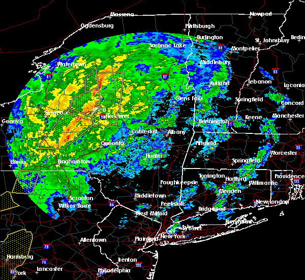 Radar Image for Severe Thunderstorms near Chadwicks, NY at 10/31/2019 7:36 PM EDT