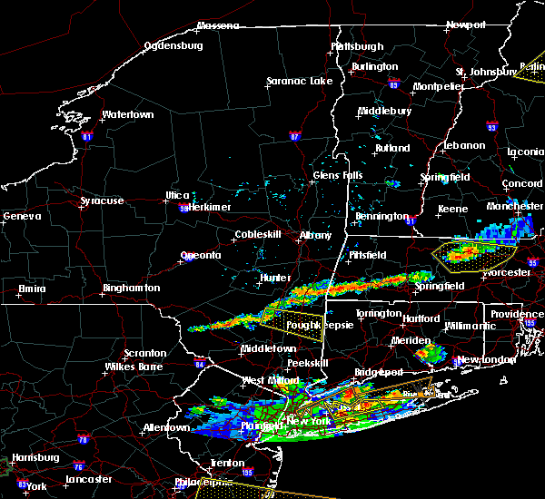 Radar Image for Severe Thunderstorms near Canaan, CT at 6/23/2015 7:16 PM EDT