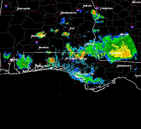 Radar Image for Severe Thunderstorms near Crestview, FL at 6/23/2015 6:15 PM CDT