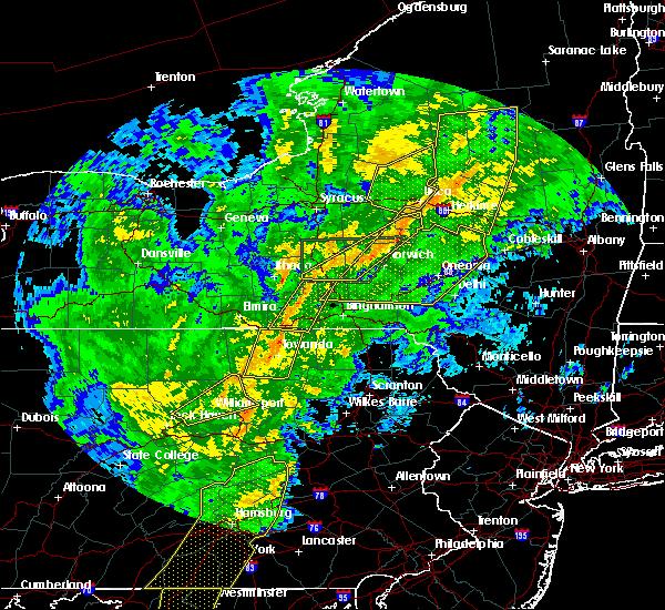 Radar Image for Severe Thunderstorms near Oriskany Falls, NY at 10/31/2019 7:55 PM EDT