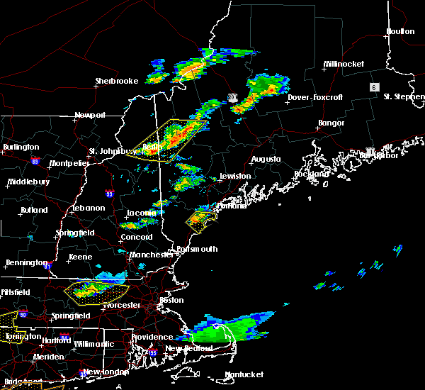 Radar Image for Severe Thunderstorms near Portland, ME at 6/23/2015 7:18 PM EDT
