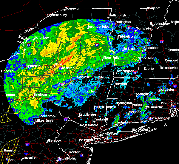 Radar Image for Severe Thunderstorms near Chadwicks, NY at 10/31/2019 8:06 PM EDT