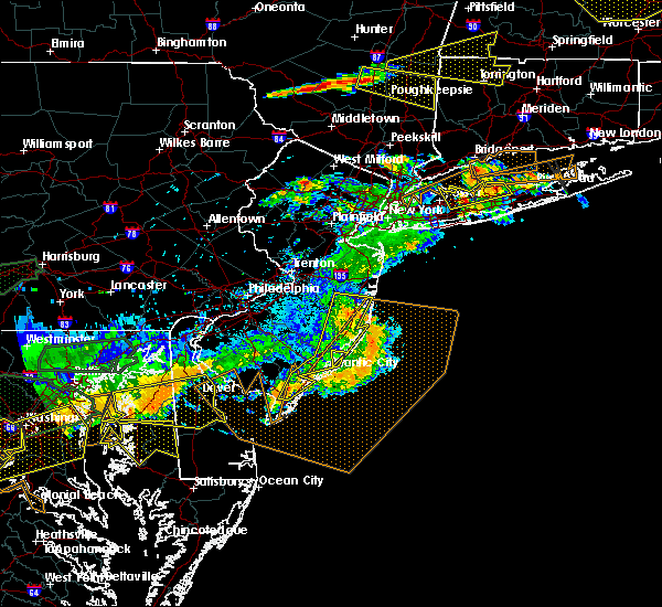 Radar Image for Severe Thunderstorms near Silver Ridge, NJ at 6/23/2015 7:18 PM EDT