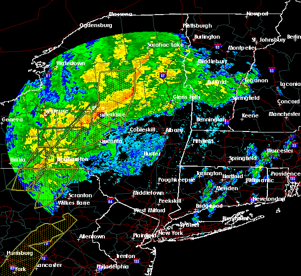 Radar Image for Severe Thunderstorms near Chadwicks, NY at 10/31/2019 8:24 PM EDT