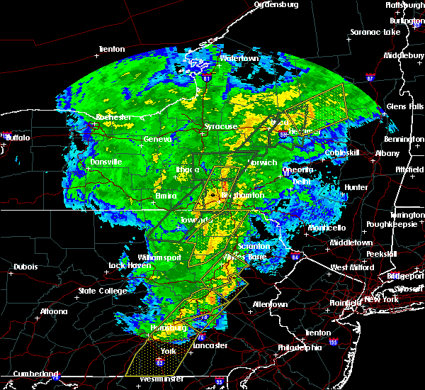 Radar Image for Severe Thunderstorms near West Falls, PA at 10/31/2019 8:52 PM EDT