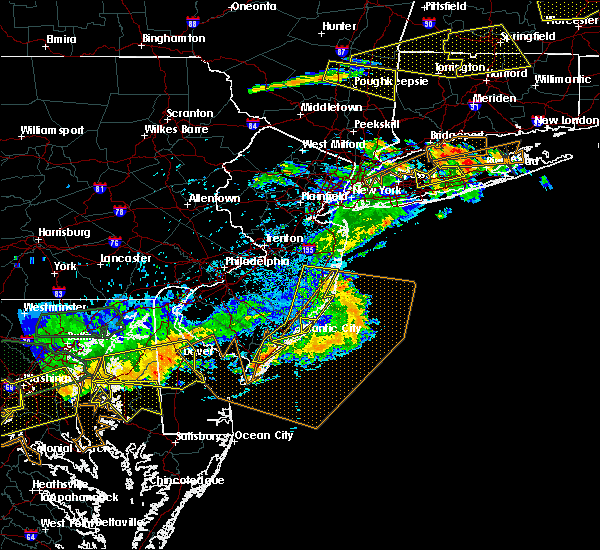 Radar Image for Severe Thunderstorms near Silver Ridge, NJ at 6/23/2015 7:29 PM EDT