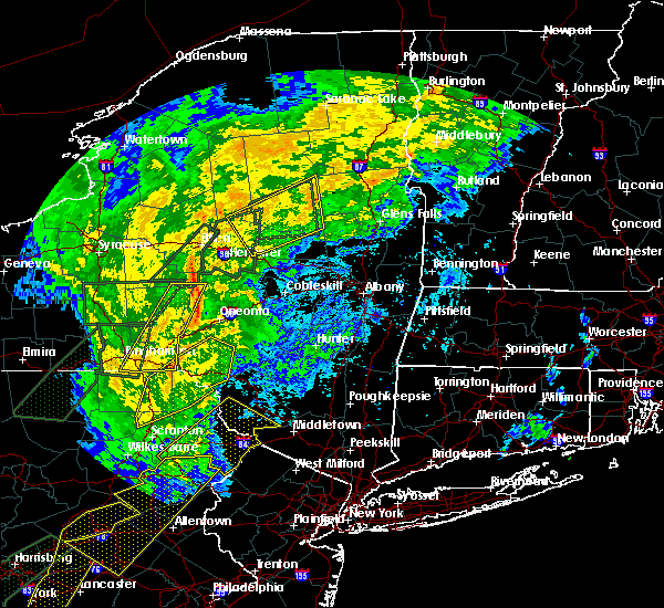 Radar Image for Severe Thunderstorms near Chadwicks, NY at 10/31/2019 9:32 PM EDT