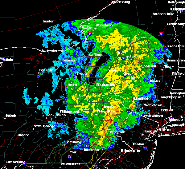 Radar Image for Severe Thunderstorms near Oriskany Falls, NY at 10/31/2019 10:17 PM EDT