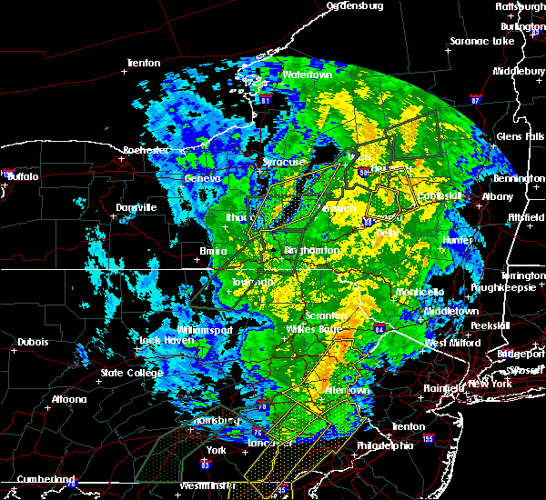 Radar Image for Severe Thunderstorms near Clinton, NY at 10/31/2019 10:32 PM EDT
