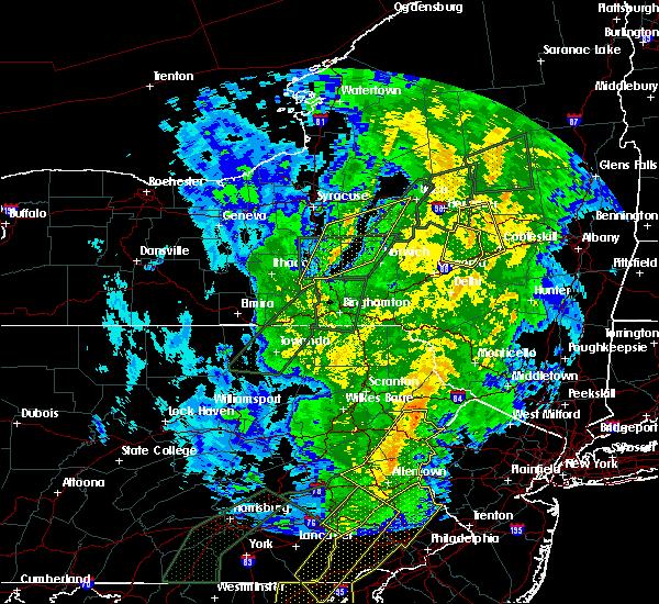 Radar Image for Severe Thunderstorms near Oriskany Falls, NY at 10/31/2019 10:32 PM EDT