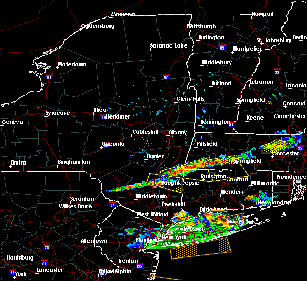 Radar Image for Severe Thunderstorms near Kingston, NY at 6/23/2015 7:38 PM EDT