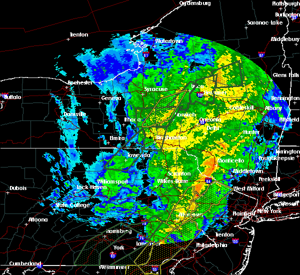 Radar Image for Severe Thunderstorms near Clinton, NY at 10/31/2019 10:54 PM EDT
