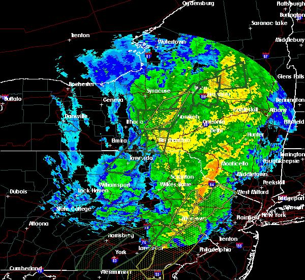 Radar Image for Severe Thunderstorms near Oriskany Falls, NY at 10/31/2019 10:54 PM EDT