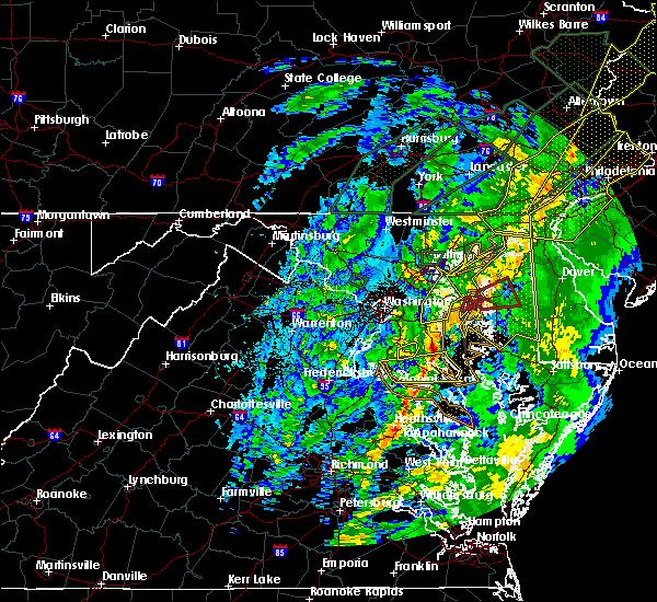 Radar Image for Severe Thunderstorms near Mechanicsville, MD at 10/31/2019 11:27 PM EDT
