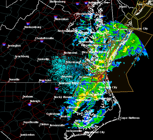 Radar Image for Severe Thunderstorms near Virginia Beach, VA at 11/1/2019 1:08 AM EDT