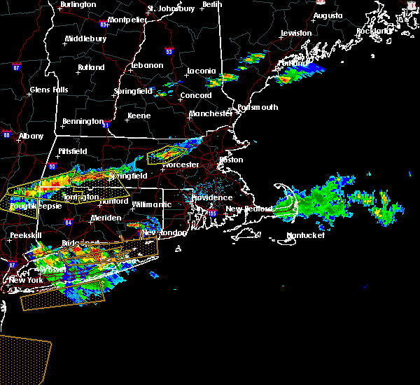 Radar Image for Severe Thunderstorms near Wilbraham, MA at 6/23/2015 7:48 PM EDT