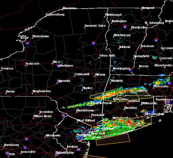 Radar Image for Severe Thunderstorms near Agawam Town, MA at 6/23/2015 7:54 PM EDT
