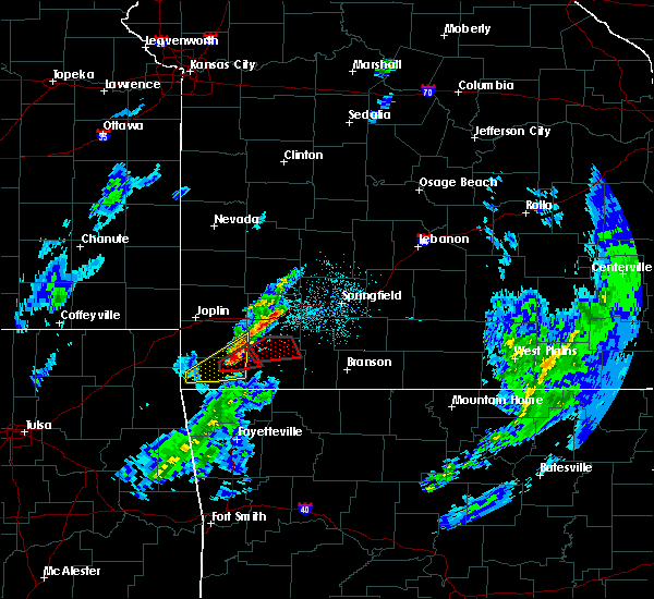 Radar Image for Severe Thunderstorms near Purdy, MO at 11/26/2019 6:25 PM CST
