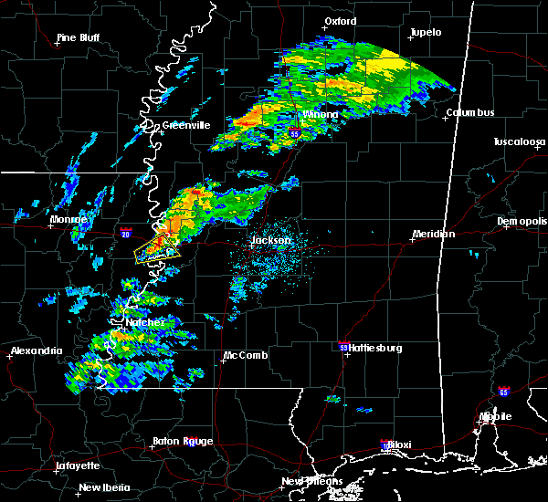 Radar Image for Severe Thunderstorms near Beechwood, MS at 11/26/2019 9:12 PM CST