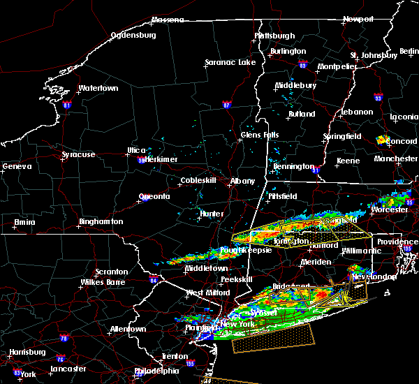 Radar Image for Severe Thunderstorms near Canaan, CT at 6/23/2015 7:57 PM EDT