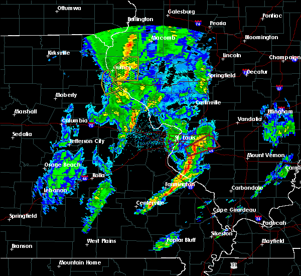 Radar Image for Severe Thunderstorms near Clayton, IL at 11/26/2019 10:44 PM CST