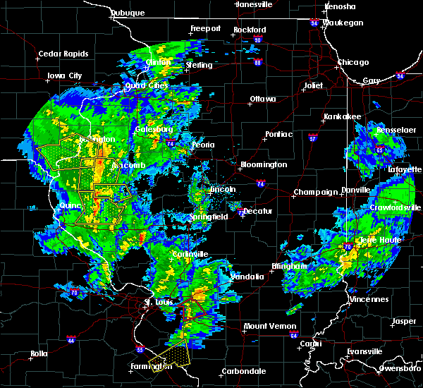 Radar Image for Severe Thunderstorms near Camden, IL at 11/26/2019 11:07 PM CST