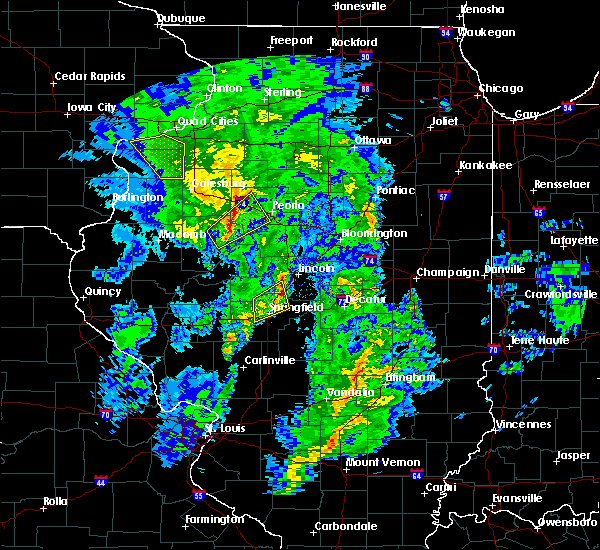 Radar Image for Severe Thunderstorms near Dunfermline, IL at 11/27/2019 12:05 AM CST
