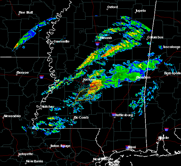 Radar Image for Severe Thunderstorms near Polkville, MS at 11/27/2019 12:24 AM CST