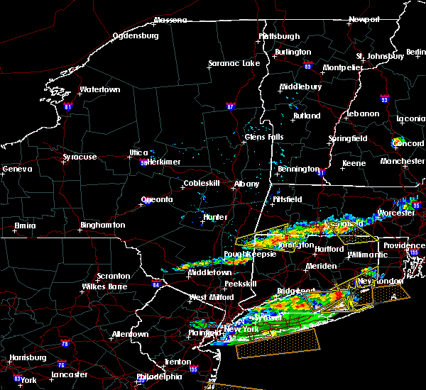 Radar Image for Severe Thunderstorms near Falls Village, CT at 6/23/2015 8:06 PM EDT