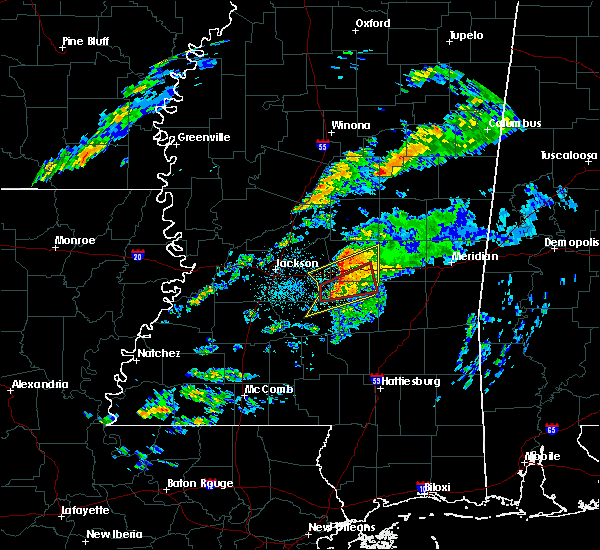 Radar Image for Severe Thunderstorms near Polkville, MS at 11/27/2019 12:43 AM CST