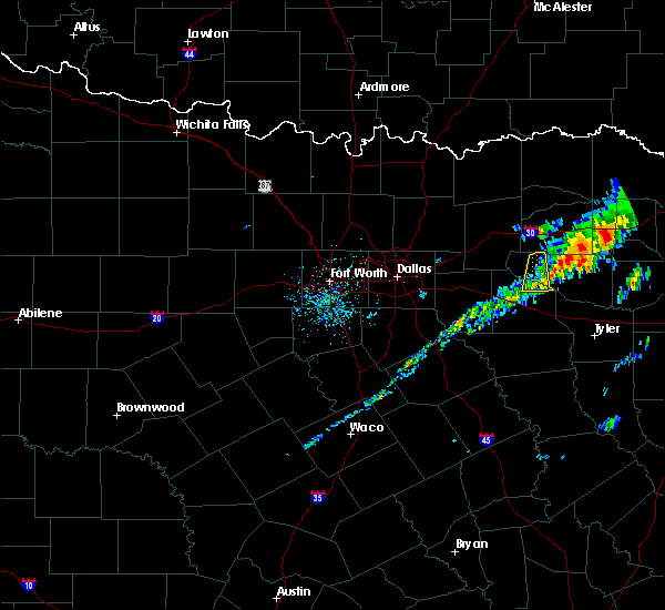 Radar Image for Severe Thunderstorms near Emory, TX at 11/30/2019 10:08 AM CST