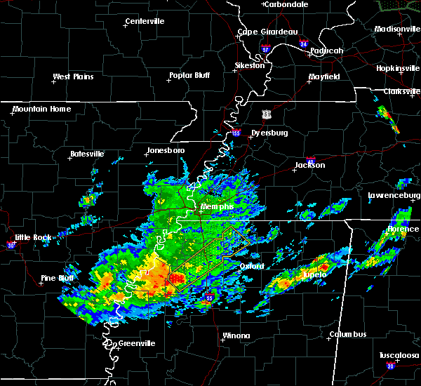 Radar Image for Severe Thunderstorms near Holly Springs, MS at 11/30/2019 2:03 PM CST