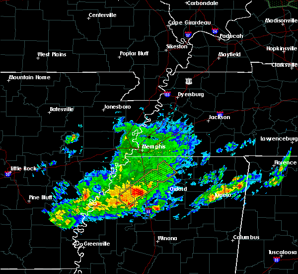 Radar Image for Severe Thunderstorms near Batesville, MS at 11/30/2019 2:18 PM CST