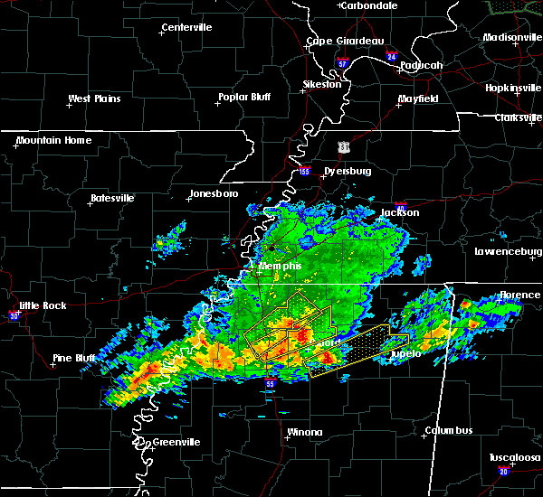 Radar Image for Severe Thunderstorms near Potts Camp, MS at 11/30/2019 2:38 PM CST