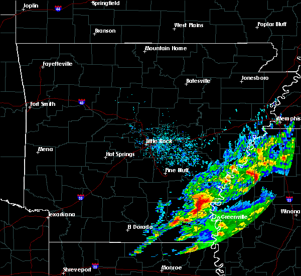Radar Image for Severe Thunderstorms near Arkansas City, AR at 11/30/2019 4:02 PM CST