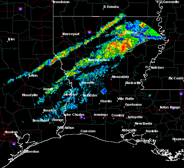 Radar Image for Severe Thunderstorms near Banks Springs, LA at 11/30/2019 4:17 PM CST