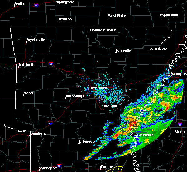 Radar Image for Severe Thunderstorms near Alligator, MS at 11/30/2019 4:17 PM CST