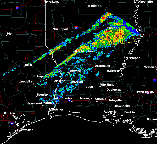 Radar Image for Severe Thunderstorms near Banks Springs, LA at 11/30/2019 4:44 PM CST