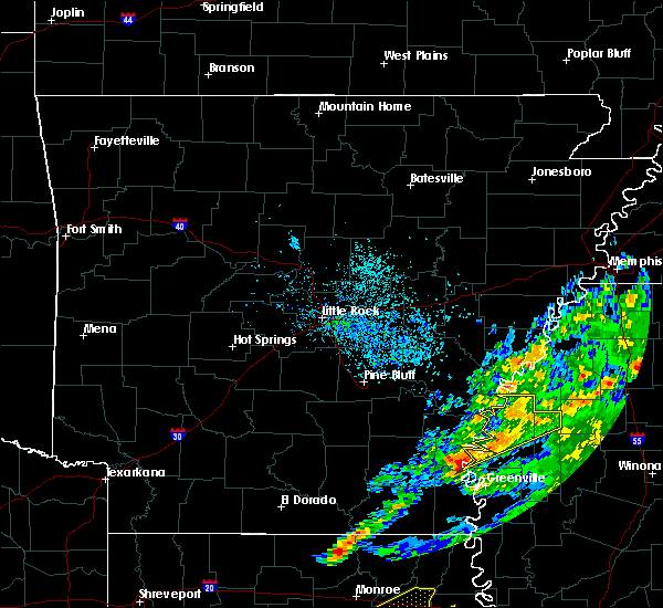 Radar Image for Severe Thunderstorms near Alligator, MS at 11/30/2019 4:44 PM CST