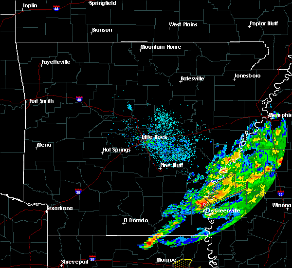 Radar Image for Severe Thunderstorms near Alligator, MS at 11/30/2019 4:54 PM CST
