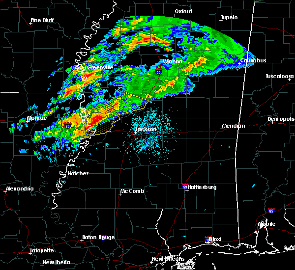 Radar Image for Severe Thunderstorms near Beechwood, MS at 11/30/2019 5:51 PM CST