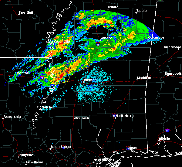 Radar Image for Severe Thunderstorms near Beechwood, MS at 11/30/2019 6:12 PM CST