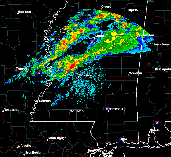 Radar Image for Severe Thunderstorms near Drew, MS at 11/30/2019 6:37 PM CST