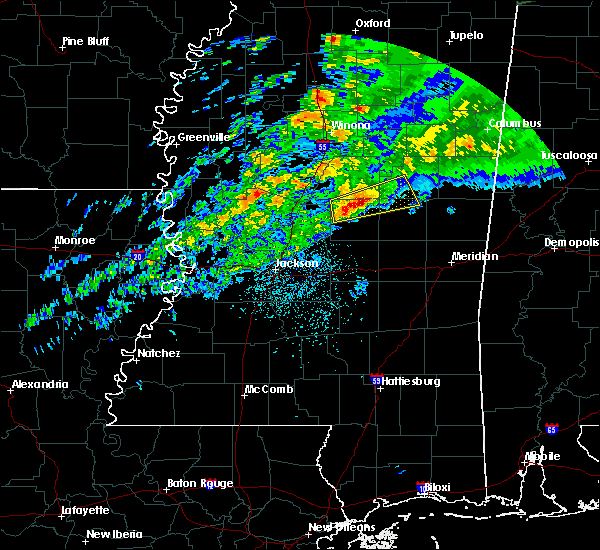 Radar Image for Severe Thunderstorms near Pearl River, MS at 11/30/2019 7:26 PM CST
