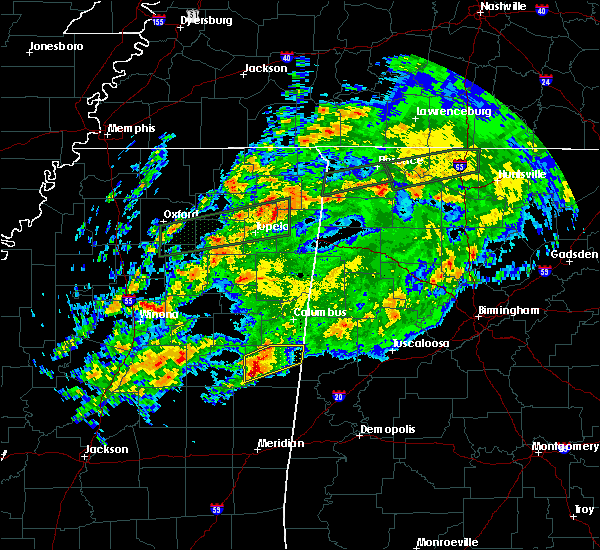 Radar Image for Severe Thunderstorms near Pickensville, AL at 11/30/2019 8:08 PM CST
