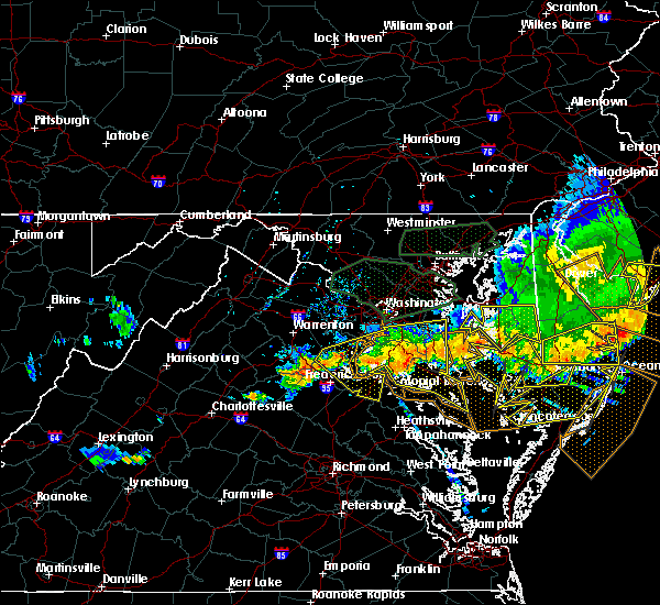 Radar Image for Severe Thunderstorms near St. Leonard, MD at 6/23/2015 8:33 PM EDT